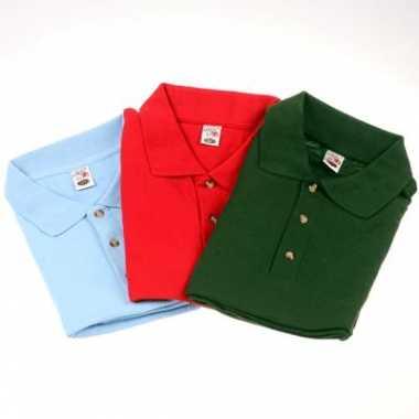 3 pak grote maten polo t shirts