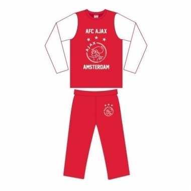 Ajax pyjama broek shirt jongens
