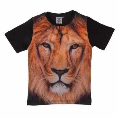 All over print t shirt leeuw kinderen