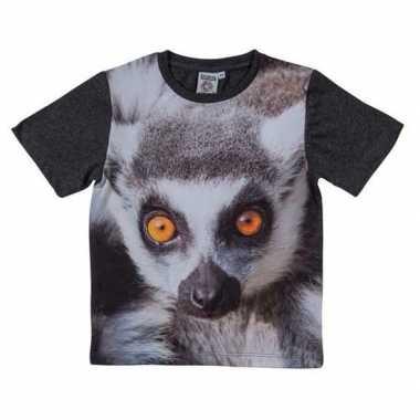 All over print t shirt ringstaart maki kinderen