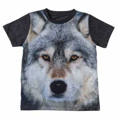 All over print t shirt wolf kinderen