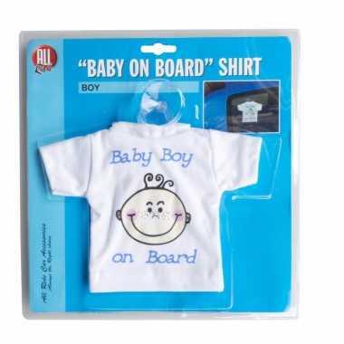Baby on board t-shirt boy
