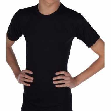 Beeren thermo shirt zwart korte mouw