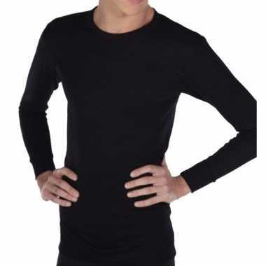 Beeren thermo shirt zwart lange mouw