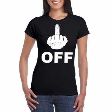 Fuck off shirt dames