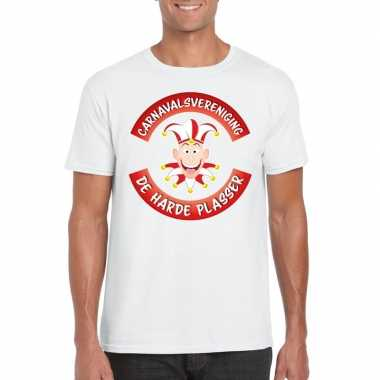 Fun t-shirt brabantse carnavalsvereniging wit heren