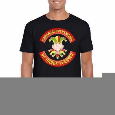 Fun t shirt limburgse carnavalsvereniging zwart heren