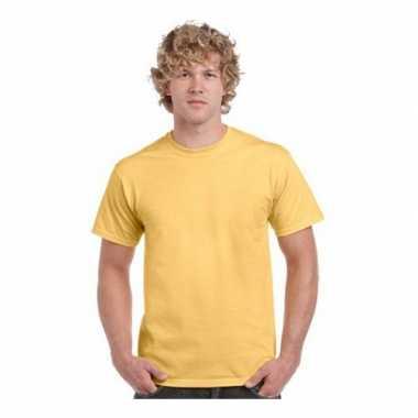 Gekleurd t shirt heren