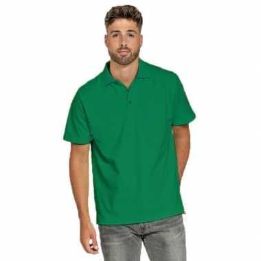 Groene poloshirt heren