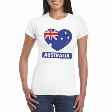I love australie t shirt wit dames