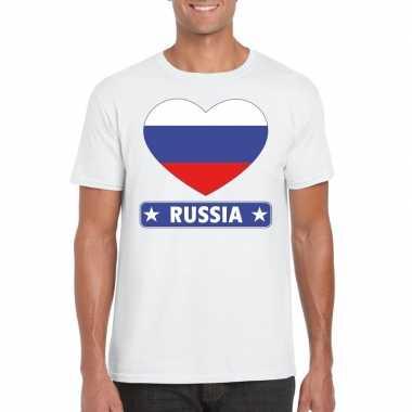 I love rusland t shirt wit heren