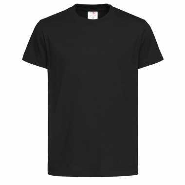 Kinderkleding zwarte kinder t shirts