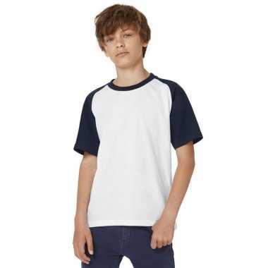 Kleding jongens baseball t-shirt