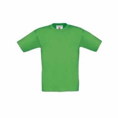 Kleding kinder t shirt groen