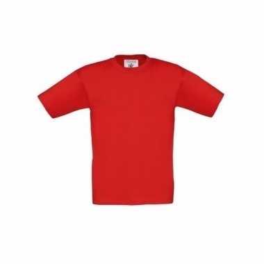Kleding kinder t shirt rood