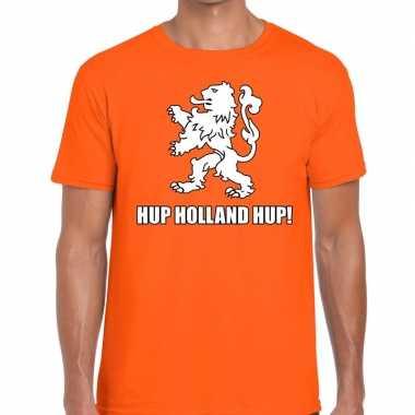 Nederlands elftal supporter shirt hup holland hup oranje heren
