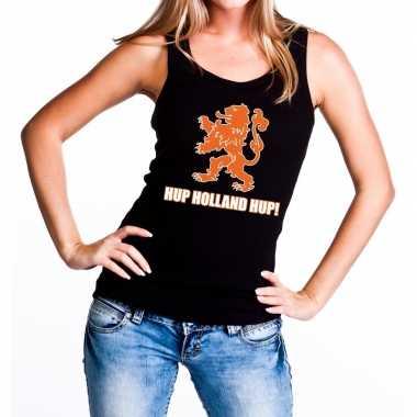 Nederlands elftal supporter tanktop / mouwloos shirt hup holland hup