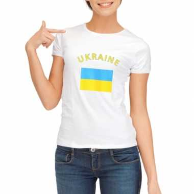 Oekraiense vlag t-shirt dames