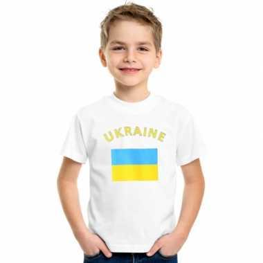 Oekraiense vlag t-shirts kinderen