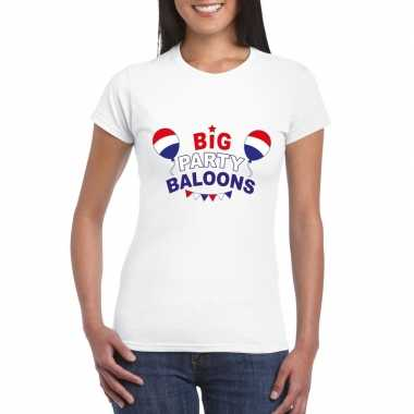 Officieel toppers big party baloons 2019 t shirt wit dames