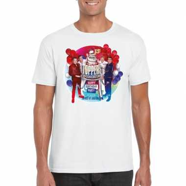 Officieel toppers concert 2019 t shirt wit heren
