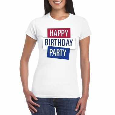 Officieel toppers concert happy birthday party 2019 t shirt wit dames