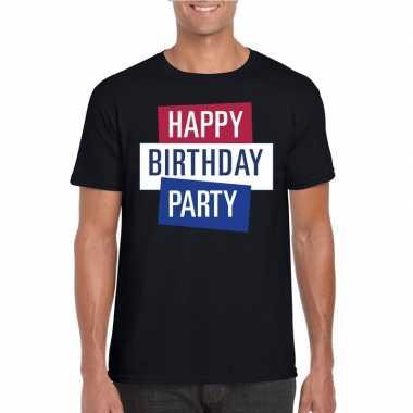 Officieel toppers concert happy birthday party 2019 t shirt zwart her