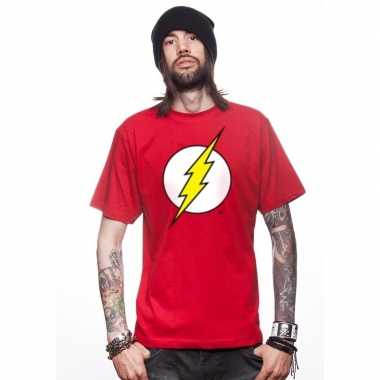 The avengers flash t-shirt rood mannen