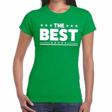 The best fun t shirt groen dames