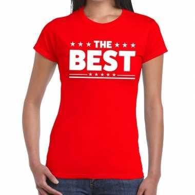 The best fun t shirt rood dames