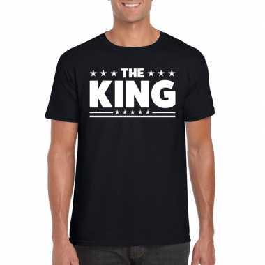 The king fun t shirt heren zwart
