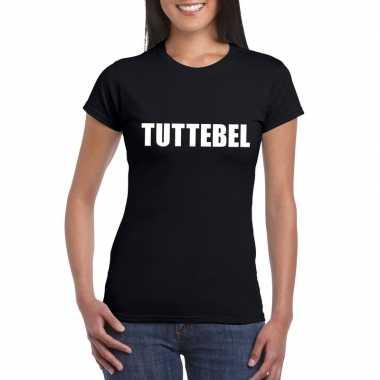 Tuttebel fun t shirt zwart dames