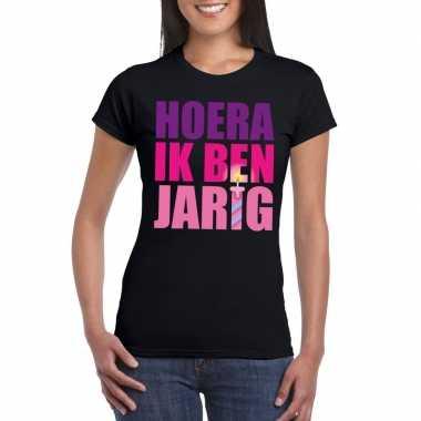 Verjaardags t shirt dames roze