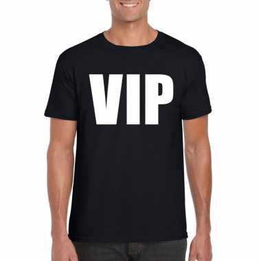 Vip fun t-shirt zwart heren