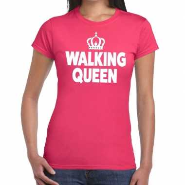 Wandel 4 daagse shirt walking queen roze dames