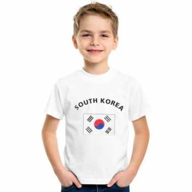 Zuid koreaanse vlag t-shirts kinderen