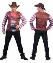 3d cowboy shirt heren