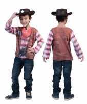 3d cowboy shirt kinderen