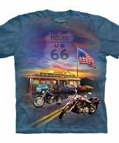 All over print t-shirt route 66