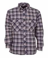 Blauw trucker shirt alpha