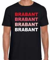 Brabant provincie shirt zwart heren