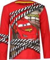 Cars lightning mcqueen t shirt rood
