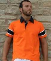 Contrastkleur rugbyshirts