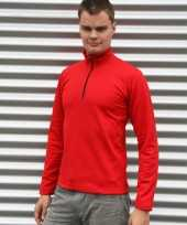 Craft thermoshirt rood heren