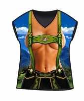 Dames t-shirt alpen print