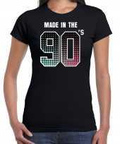 Feest-shirt made the 90s t-shirt outfit zwart dames