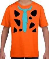 Fred lookalike holbewoner t-shirt jongens meisjes