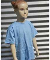 Kleding kinder t shirt lichtblauw