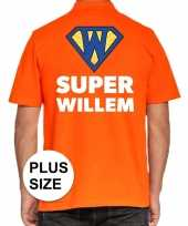 Koningsdag polo t-shirt super willem heren