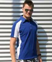 Lemon soda polo shirt heren blauw